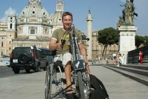Frank Gardner in Rome