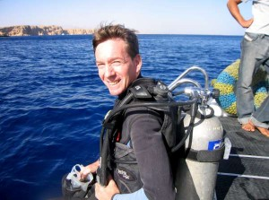 Frank Gardner in Sharm